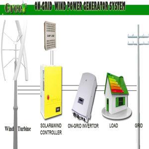 Type de Darrieus Turbine éolienne à faible vitesse du vent