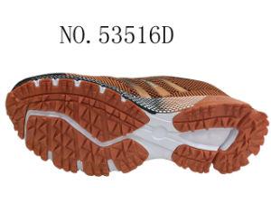 Hotpink et Orange Lady Chaussures Chaussures de sport de plein air Stock