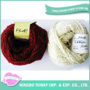Vientre de lujo de la bufanda tejer a mano coloridos textiles Fancy Yarn (FY-081)
