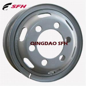 5.50-16/6.00-16/6.50-16管のタイヤ7.00-16が付いている鋼鉄トラックの車輪