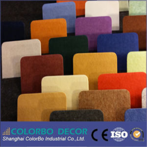 L'isolation acoustique Polyester Panneau acoustique avec la norme ISO 9001