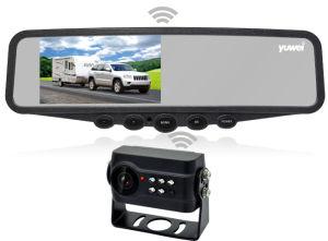 Het e-TEKEN van de Monitor van de Spiegel van de Auto van 4.3 Duim Rearview Systeem van de Camera