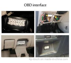 Inseguitore facile di GPS dell'automobile di Obdii di funzionamento con l'allarme T206 di vibrazione