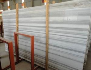 Mattonelle di marmo bianche popolari cinesi delle lastre della