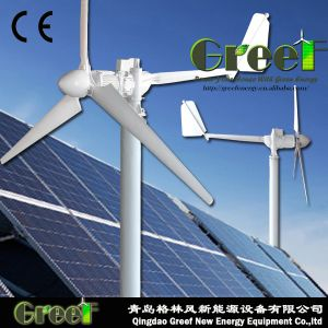 1kw Turbogenerator van de Wind van de -10kw de Horizontale As met Controlemechanisme