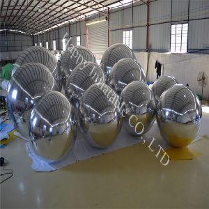 装飾のための膨脹可能な気球ミラーの球はカスタマイズする