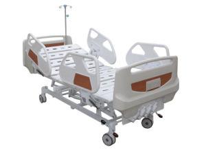 Letto di ospedale storto manuale di Luxuious di funzione HS-Bm103 cinque