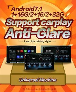 6.95 de  Anti-Glare Androïde StereoNavigatie van de Auto van 7.1 Carplay Universele Dubbele DIN
