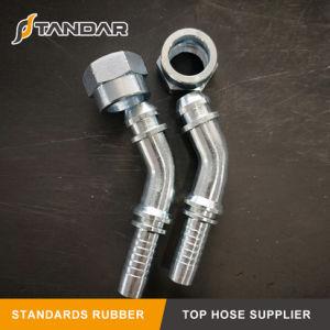 Montaggio di tubo flessibile idraulico del filetto maschio 24 della sede metrica del cono
