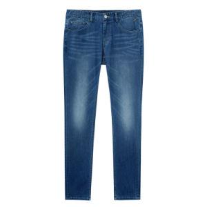 2016 jeans scarni di modo del denim di svago degli uomini