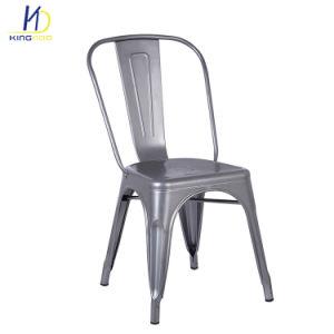 Un style moderne réplique Tolix Vintage Cafe Restaurant Chaises de métal