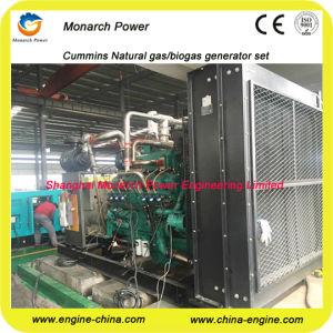 Cummins 980kw Biogas/Natural Gas/Biomass Gas Generator