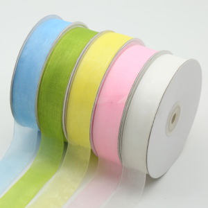 2cm coloré Gradient pure Rainbow ORGANZA RIBBON