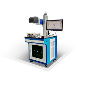 Cabo de couro Jeans Tecido plástico máquina de marcação a laser de CO2