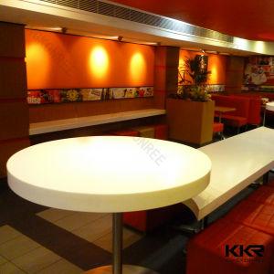 人工的な石造りの固体表面のレストランの家具の円卓会議(T1711272)