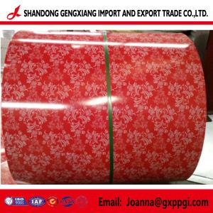 Fleur motif imprimé PPGI /PPGL/bobines d'acier prépeint