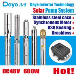 DC48V 600W Chef63m de la pompe à eau solaire de la pompe de puits profond