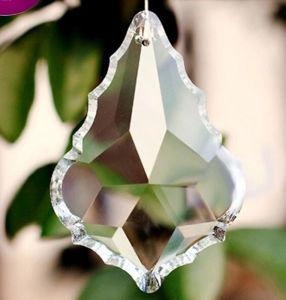 La decoración de bodas colgante de cuarzo de araña de cristal colgante