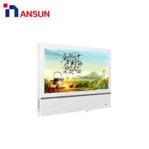 Установка на стену ЖК-экран для рекламы телевизор с Android автономной системы