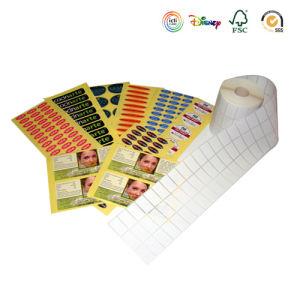 스티커, 관통되는 꼬리표 인쇄, 길쌈된 레이블, 안전 물개, 자수 패치, 접착 테이프 (003)