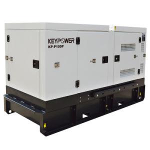 KeypowerレンタルSpecsの発電機100kVAの無声ディーゼル発電機