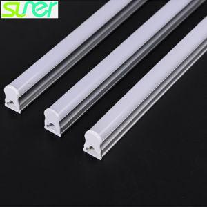 L'indicatore luminoso lineare diritto 18W 1.5m 6000-6500K del tubo luminoso del LED montato superficie T5 raffredda il bianco