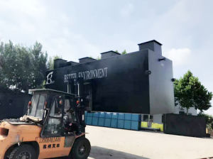 Unità nel sottosuolo messa in contenitori di trattamento di acque di rifiuto per acqua sporca industriale e per uso domestico