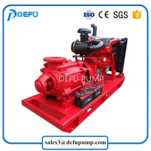 Motopompe antincendi centrifughe motorizzate diesel ad alta pressione