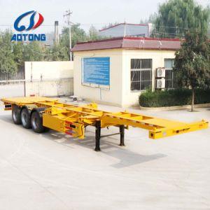 Heißer verkaufender Behälter-Schlussteil-/Behälter-Chassis-Hersteller der gute Qualitäts2/3axle