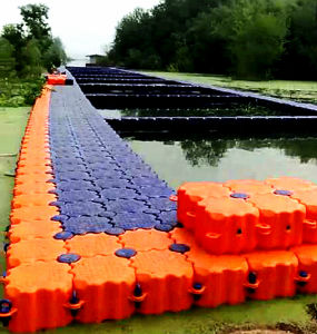 HDPEの耐久のプラスチック浮遊ドックの突堤