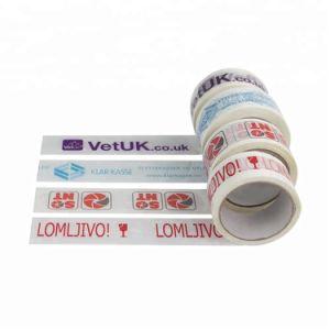 Band van de Verpakking van de Douane van de Band van de Verpakking BOPP de Embleem Afgedrukte Zelfklevende