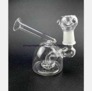 Glasrohr-Tabak-Filter-Wiederanlauf-Glas-Rohr des wasser-3.94-Inch