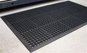 مضادّة الزلّة أسود مطّاطة حصيرة سعر مضادّة تعب أرضية حصيرة لأنّ محطّة بنزين