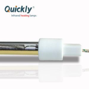 Tubo única onda média da lâmpada de infravermelho 20000horas Warranty