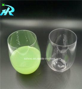 4ozペットワインのゴブレットのプラスチックStemlessワインのコップ