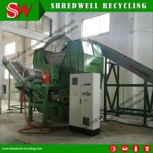 Двойной вала используется давление в шинах для шинковки отходы переработки шин