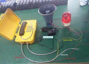 Влагостойкие вещания для тяжелого режима работы телефона промышленности, атмосферостойком купольном туннеля телефон