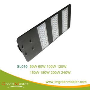 SL010 Die-Casting LED 120W de luz de la calle la carcasa de aluminio
