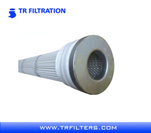 Pulso longo cartucho de filtro de pregas de poliéster com membrana de PTFE