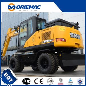 Sany Excavadora de Ruedas de 13,5 toneladas Sy155W