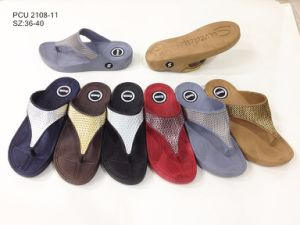 Nuevo estilo de las mujeres Sandalias zapatillas zapatos (YG2108-11)