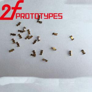 Parti veloci lavoranti della plastica della lavorazione con utensili girate alta precisione del macchinario di alta esattezza del diametro 0.08mm del foro di Peeks delle parti di metallo di CNC