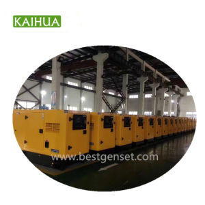 На заводе для изготовителей оборудования Cummins 100 ква бесшумный электрической мощности Cummins дизельных генераторах