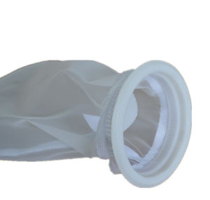 Mícron monofilamento de nylon saco de filtro de líquido para tratamento de água