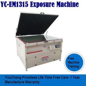 스크린 인쇄를 위한 한국 유형 1.3X1.5m 노출 기계