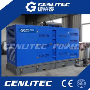 generatore elettrico diesel insonorizzato di 500kVA 400kw con Cummins Engine