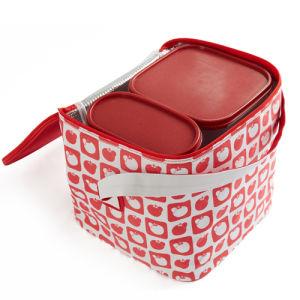 Sacchetto di Tote promozionale del pranzo del dispositivo di raffreddamento di picnic del di alluminio del poliestere 600d