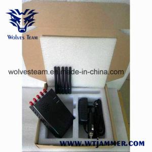 De verkiesbare Draagbare GPS WiFi 3G Stoorzender van het Signaal van de Telefoon van de Cel