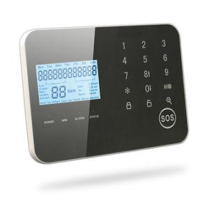 Lcd-drahtlose Noten-Tastaturblock-Ausgangs-G-/Mpstn-Sicherheits-Alarmanlage
