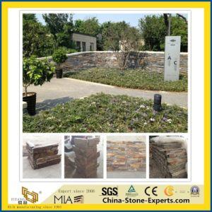 Naturel noir/blanc/jaune/vert/Rusty cultivés de l'ardoise de la pierre pour jardin/revêtement mural/de/Decorative/Extérieur/toiture/l'aménagement paysager/environnement